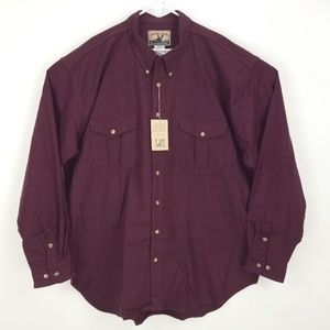Moose Creek Men's Chamois Flannel Shirt 4XL NB10